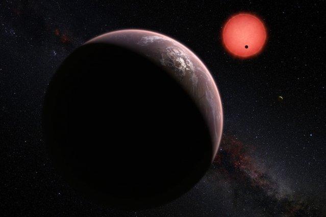Image: M. Kornmesser/ESO